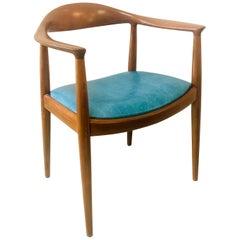 Hans Wegner Teak Arm Round Chair JH-503, 3 Available