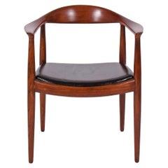 Hans Wegner Teak Classic Chair for Johannes Hansen