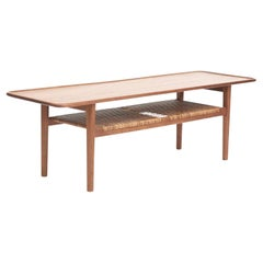 Hans Wegner Teak Coffee Table Model AT-10