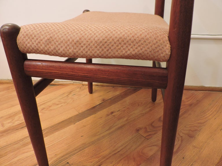 Hans Wegner Teak Cow Horn Chair Model JH 505 for Johannes Hansen 5