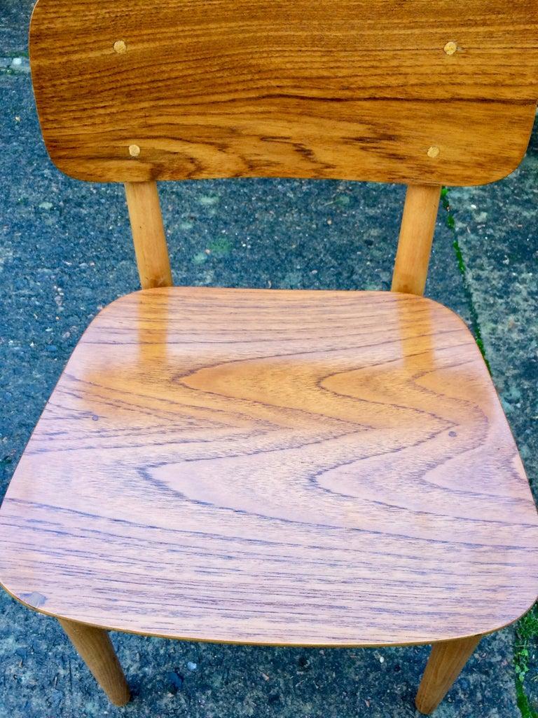 Hans Wegner Teak Dining Chairs Set of Ten for Fritz Hansen 4101, Denmark For Sale 6