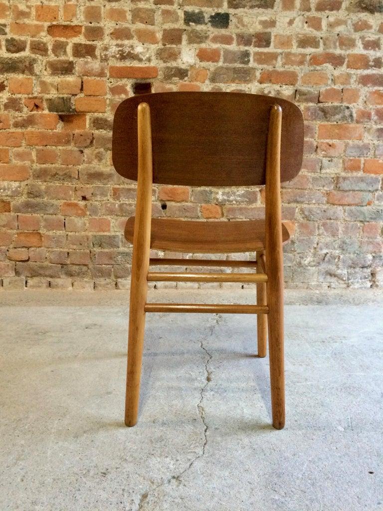 Hans Wegner Teak Dining Chairs Set of Ten for Fritz Hansen 4101, Denmark In Good Condition For Sale In Longdon, Tewkesbury