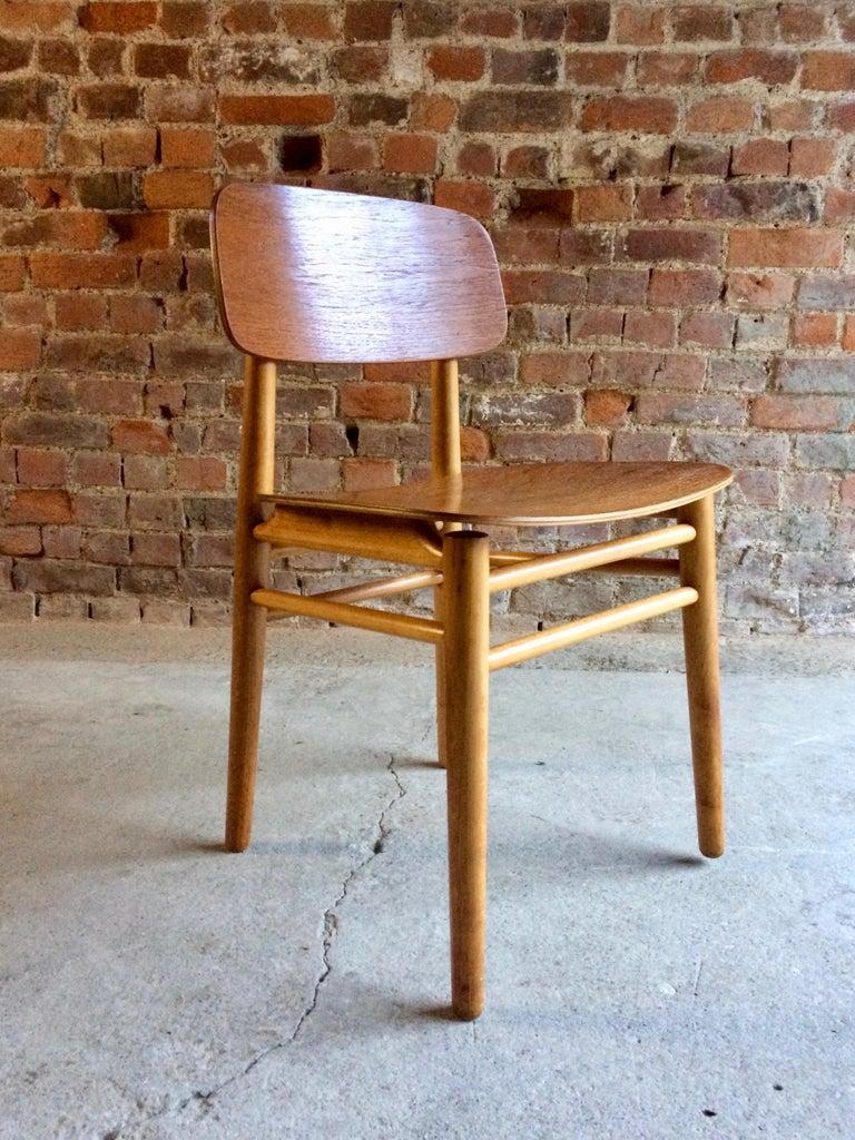 Mid-20th Century Hans Wegner Teak Dining Chairs Set of Ten for Fritz Hansen 4101, Denmark For Sale
