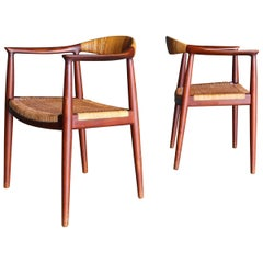 "Hans Wegner ""The Chair"" for Johannes Hansen, circa 1955"