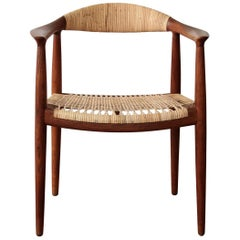 "Hans Wegner ""The Chair"" Hans Model JH 501"