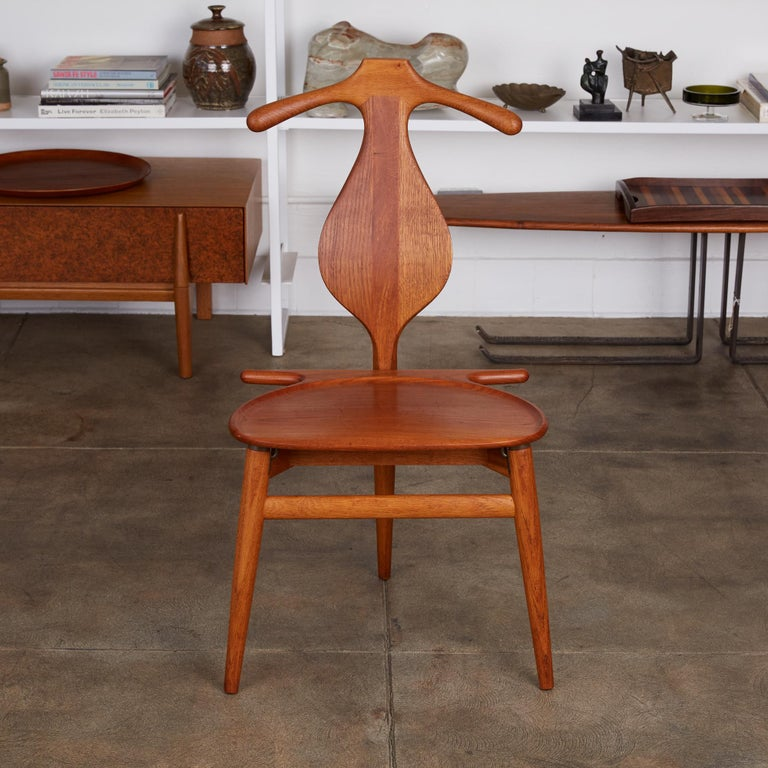 Danish Hans Wegner Valet Chair For Sale