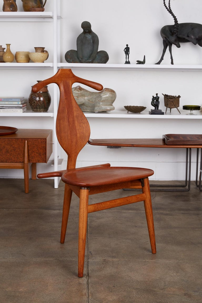 Hans Wegner Valet Chair In Excellent Condition For Sale In Los Angeles, CA