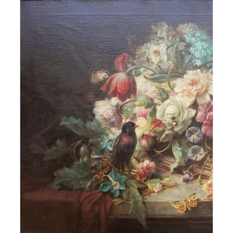 Austrian Hans Zatzka Oil on Canvas