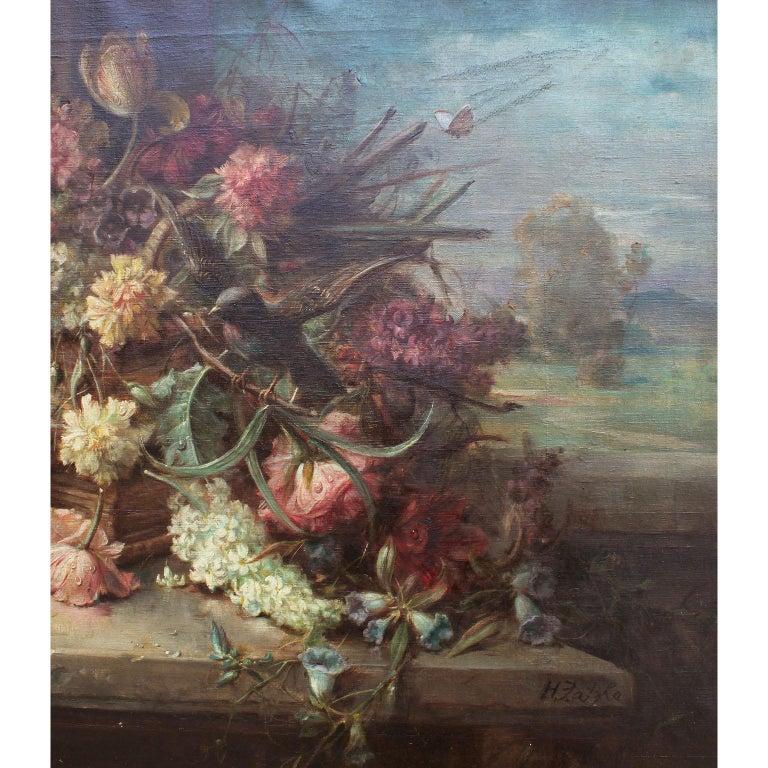 Hans Zatzka Oil on Canvas
