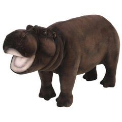 Hansa Mechanical Huge Stuffed Hippopotamus