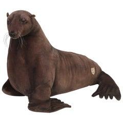 Hansa Stuffed Mechanical Seal Stuffed Animal