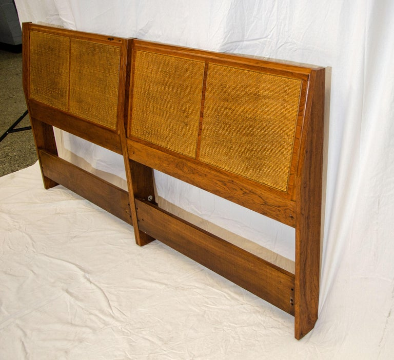 Scandinavian Modern Hansen & Guldborg King Size Headboard Bed For Sale
