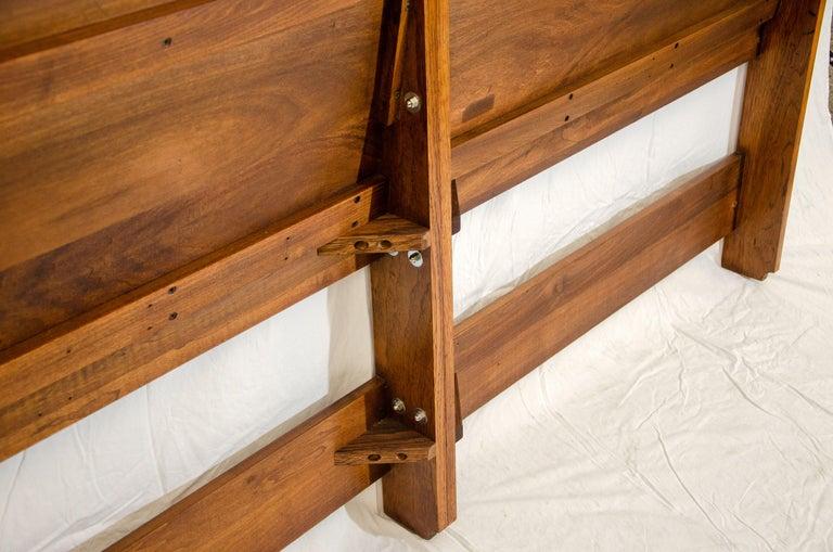 Hansen & Guldborg King Size Headboard Bed In Good Condition For Sale In Crockett, CA