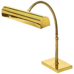 Hansen Polished Brass Pharmacy Desk Lamp