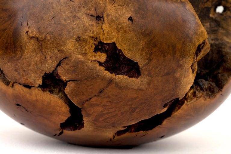 Hap Sakwa Turned Manzanita Wood Vessel, USA 1982 For Sale 1