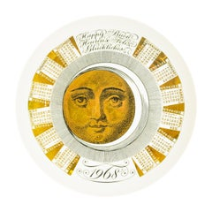 Happy 1968, Calendar Series by Piero Fornasetti, 1968