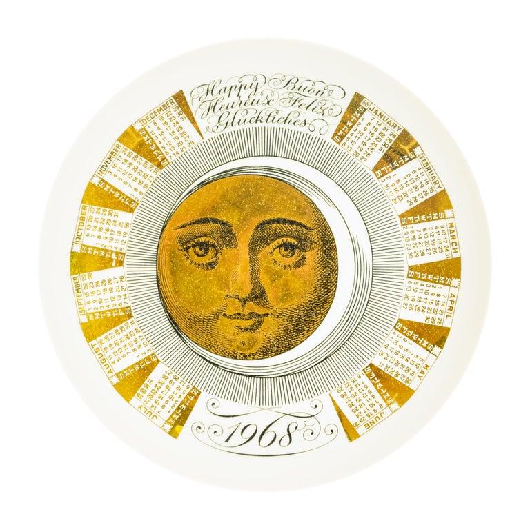 Happy 1968, Calendar Series by Piero Fornasetti, 1968 For Sale