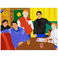 'Happy Days' Portrait Painting by Alan Fears Pop Art