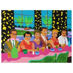 'Happy Families' Portrait Painting by Alan Fears Pop Art