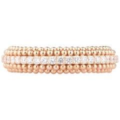 Harakh 0.57 Carat Colorless Diamond 18 Karat Rose Gold Sunlight Ring