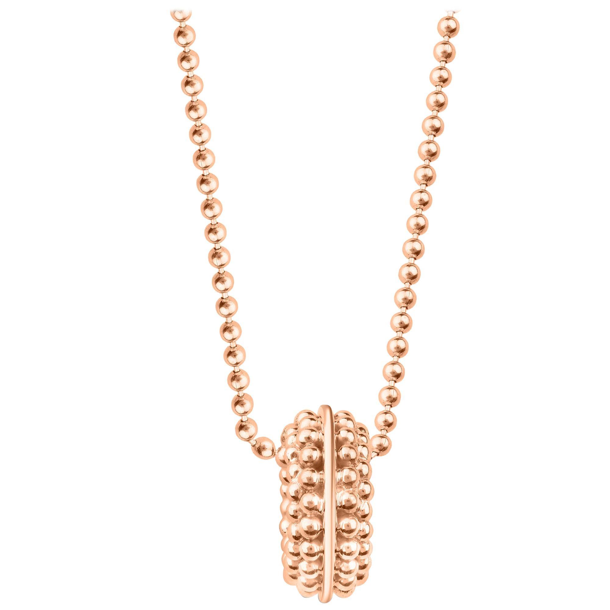 Harakh 18 Karat Rose Gold Sunlight Pendant Necklace