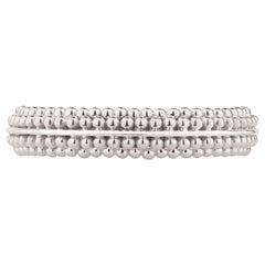 Harakh 18 Karat White Gold Sunlight Band Ring