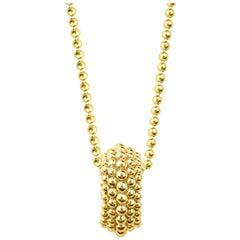 Harakh 18 Karat Yellow Gold Sunlight Pendant Necklace
