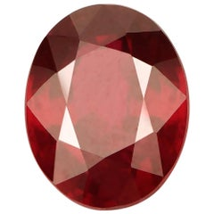 Harakh AGS Certified 2.02 Ct Natural Pigeon Blood Ruby Loose Stone Custom made