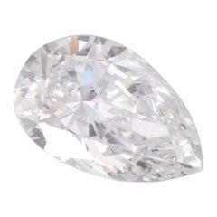 Harakh GIA Certified 0.46 CT F-Color VVS1 Clarity Pear Brilliant Loose Diamond