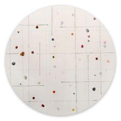 Tondo 10 (Abstract painting)