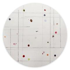 Tondo 9 (Abstract painting)