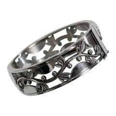Harald Nielsen for Georg Jensen Denmark Sterling Silver Bracelet No 66