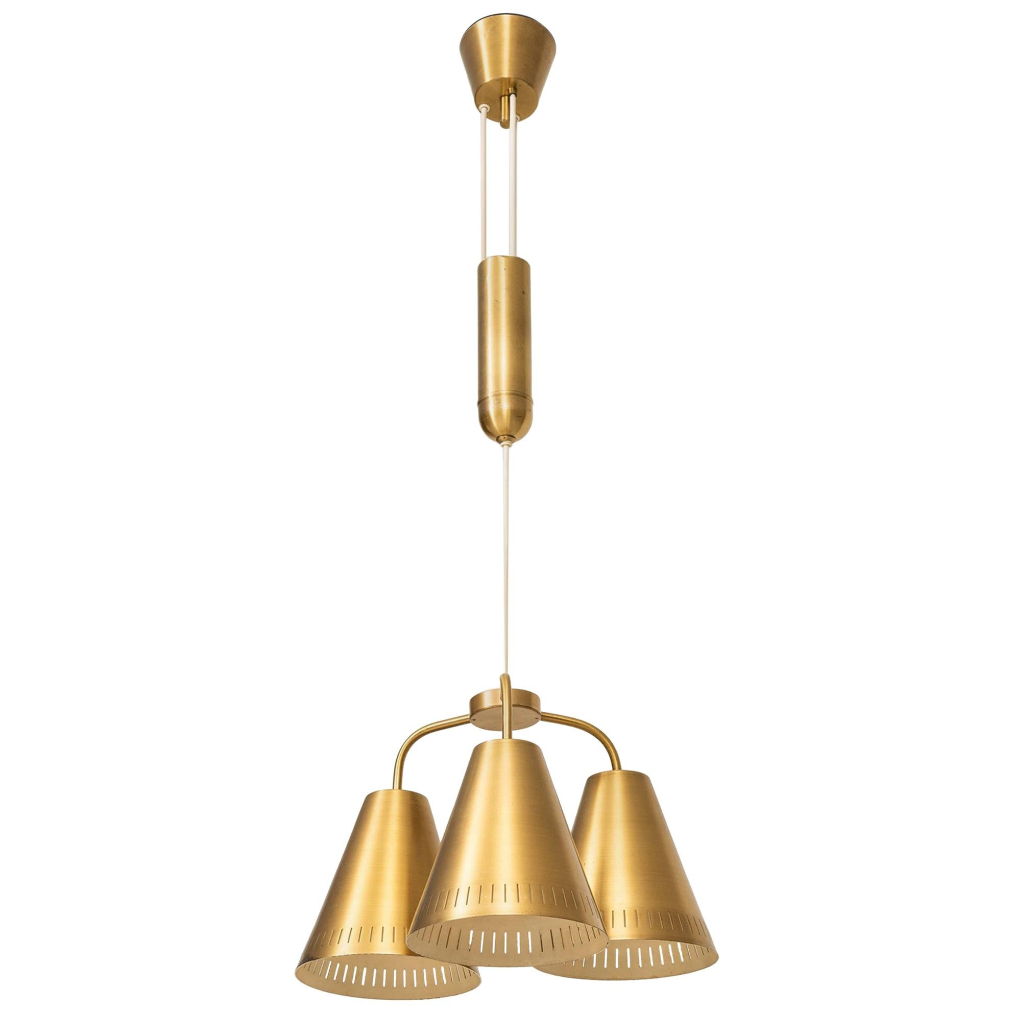 Harald Notini Ceiling Lamp Produced by Böhlmarks in Sweden