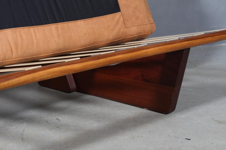 Leather Harbo Sølvsten, Sofa / Daybed For Sale