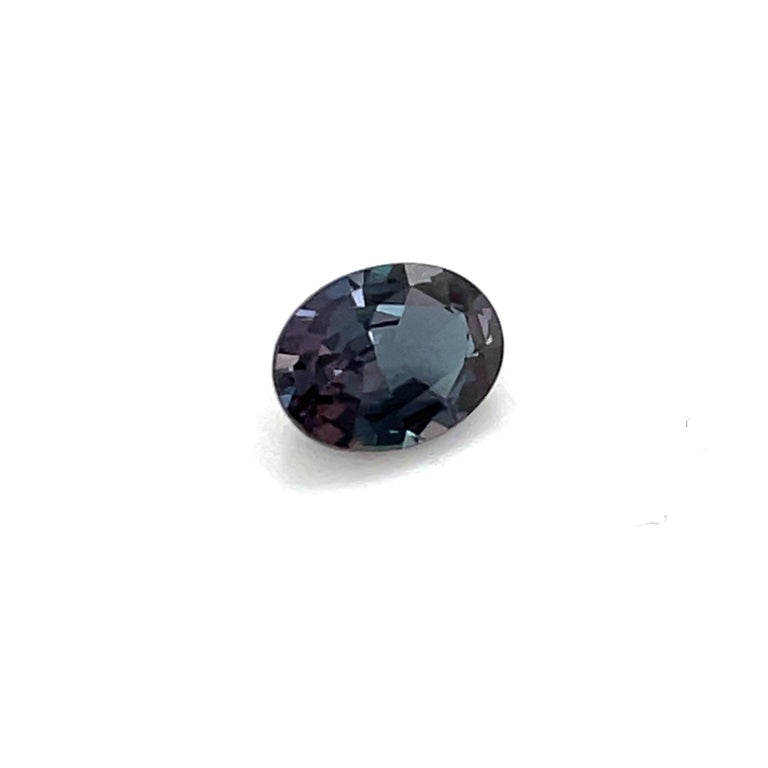 Contemporary  HARBOR D. Oval Shape Alexandrite Loose Stone 1.12 Carat For Sale