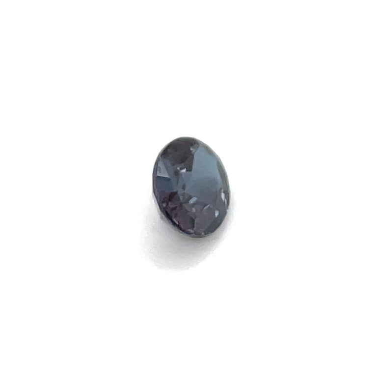 Oval Cut  HARBOR D. Oval Shape Alexandrite Loose Stone 1.12 Carat For Sale