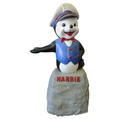 "Harbor Gas ""Harbie the Seal"" Gas Station Advertising Mascot"