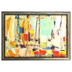 Harbor Scene, Martha's Vineyard by Vaclav Vytlacil, 1963-1964