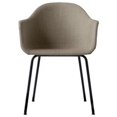 Harbour Chair, Legs in Black Steel, Sandy Brown by Norm Architects