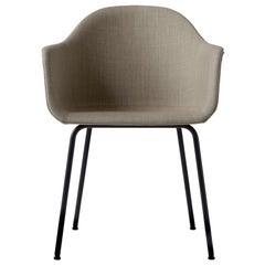 Hafen-Stuhl, Beine aus Schwarzem Stahl, Sandbraun von Norm Architects