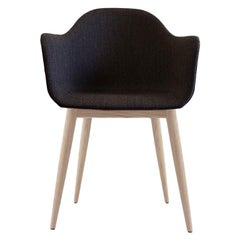 Harbour Chair, Natural Oak, Charcoal Fabric