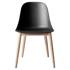 Harbour Side Chair, Base in Natural Oak, Black Shell