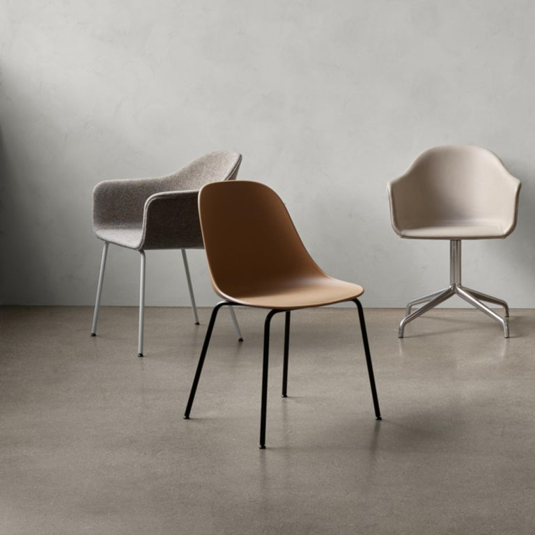 Conceived during the design process for our new creative destination Menu Space located in Copenhagen's thriving Nordhavn (Northern Harbour) area, the Harbour Chair is the result of fulfilling a variety of needs (among others) comfortable