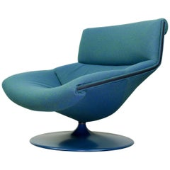 Harcourt F520 Artifort Vintage Midcentury Lounge Chair, 1970s