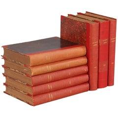 Hard Bound Books-Les Bonnes Soirees, Belgium, 1924-1933