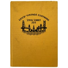 Hardcover, Clothbound Levi's Vintage Clothing Catalog Summer 2014 Book