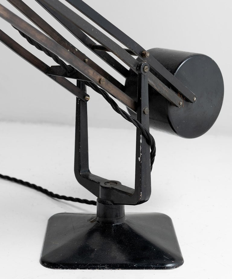 Hardrill & Horstman Work Lamp In Good Condition For Sale In Culver City, CA