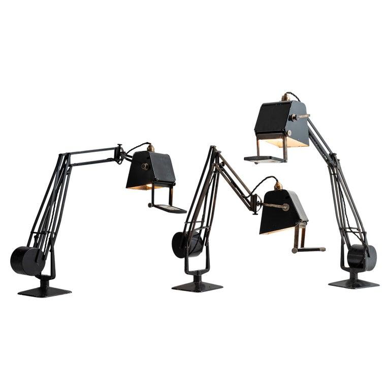 Hardrill & Horstman Work Lamp For Sale
