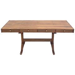 Hardwood Desk by Gianfranco Frattini for Bernini