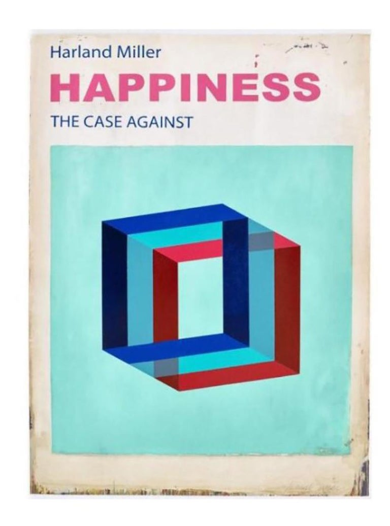 Happiness, The Case Against etching and lino cut edition of 50  - Mixed Media Art by Harland Miller
